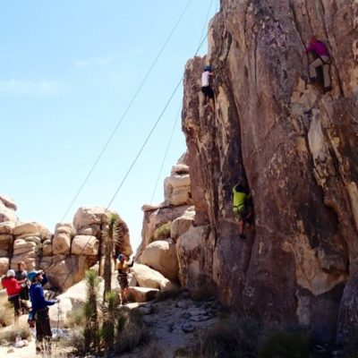 Joshua Tree Rock Climbing - Family and Groups