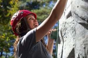 rock climbing women uprising adventures