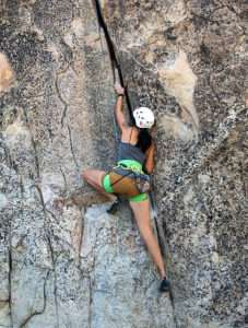 women's rock climbing guide