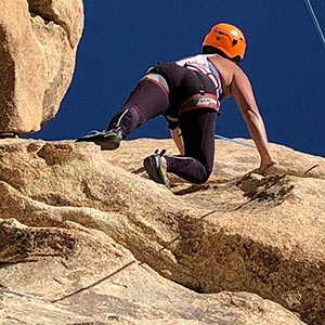 private climbing guide