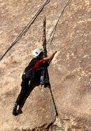 BSA Rock Climbing Merit Badge